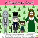 A Christmas Carol Literacy Literature Reading Comprehensio