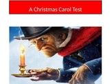 A Christmas Carol Test