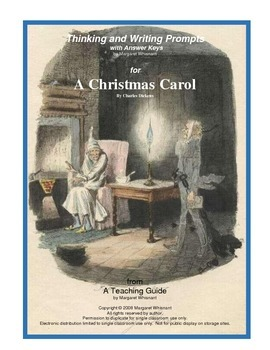 Christmas Carol Thinking and Writing Prompts