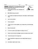 """A Christmas Carol"" Types of Sentences Assignment/Quiz/Test"
