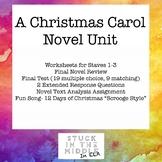 A Christmas Carol Unit
