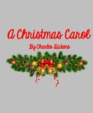A Christmas Carol Unit: NO PREP & EDITABLE