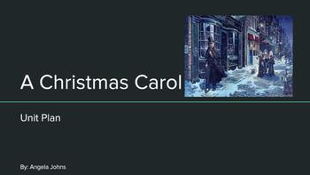 A Christmas Carol Unit Plan