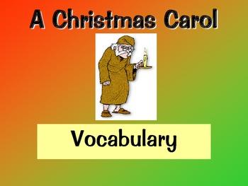 A Christmas Carol Vocabulary Slideshow