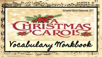 A Christmas Carol: Vocabulary Workbook Activity