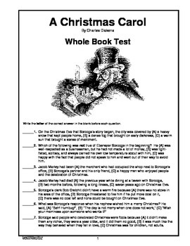 a christmas carol whole book test - A Christmas Carol Full Text