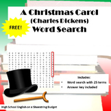 A Christmas Carol Word Search (Charles Dickens)