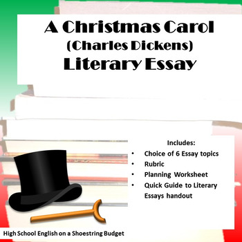 A Christmas Carol Literary Essay Charles Dickens A Christmas Carol Literary Essay Charles Dickens Example Of An Essay Paper also Business Plan Writers In Birmingham Al  Example Of An Essay Proposal