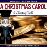 A Christmas Carol Unit - Reader's Theater, Vocabulary, Centers, and more