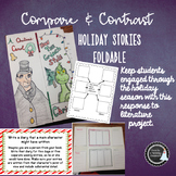 Compare and Contrast Christmas Stories Foldable - A Christ