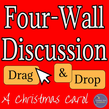 A Christmas Carol by Charles Dickens Anticipation Activity