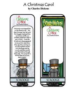 A Christmas Carol by Charles Dickens Bookmarks
