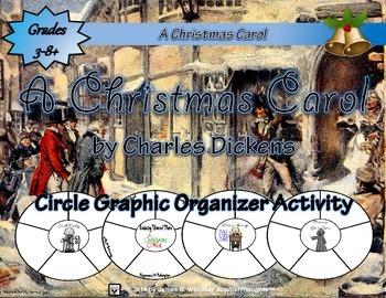 A Christmas Carol by Charles Dickens Circle Graphic Organi