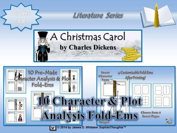 A Christmas Carol by Charles Dickens Mega Activity Bundle
