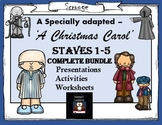 A Christmas Carol complete lesson bundle for foundation le