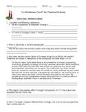 A Christmas Carol - comprehension questions