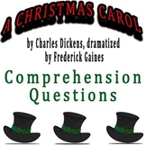 A Christmas Carol dramatized by Frederick Gaines - Compreh