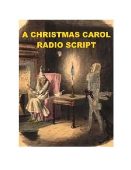 A Christmas Carol - radio script