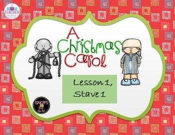 A Christmas Carol stave 1 Lesson 1
