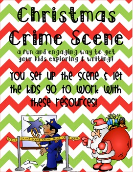 A Christmas Crime Scene [Writing Activity]