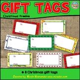 A Christmas Freebie From Me-Gift Tags