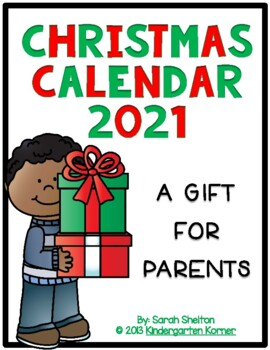 Gifts For Parents Christmas 2019 A Christmas Gift for Parents by Sarah Shelton | Teachers Pay Teachers