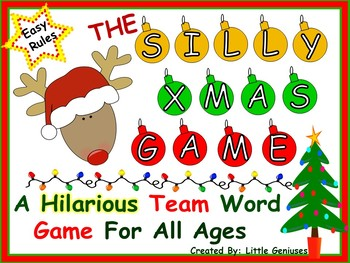 """Christmas Literacy """"Hands-On"""" Game For All Ages"""