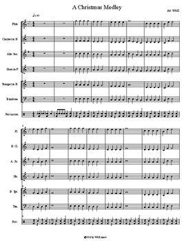 A Christmas Medley for Beginners