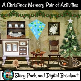 A Christmas Memory by Capote Activity Pair, Short Story Pack, Digital Breakout
