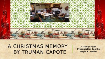 a christmas memory by truman capote by hobbs teaching toolbox tpt