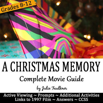 a christmas memory by truman capote movie analysis graphic organizer - A Christmas Memory 1997
