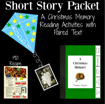 A Christmas Memory by Truman Capote Questions Printable an