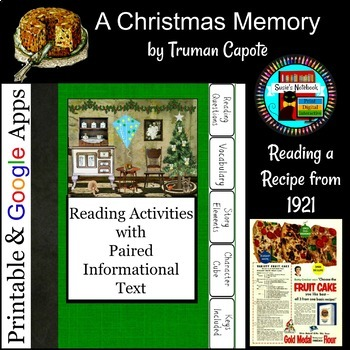 a christmas memory by truman capote questions with paired text - A Christmas Memory Full Text