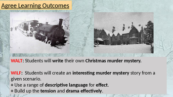 A Christmas Murder Mystery - Creative Writing Lesson