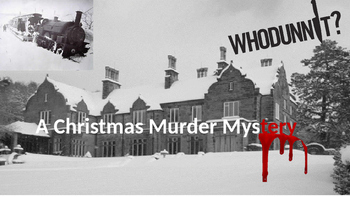 A Christmas Murder Mystery - Creative Writing Lesson