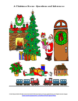 A Christmas Scene- Questions and Inferences