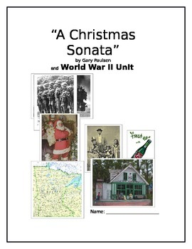 """A Christmas Sonata"" by Gary Paulsen ""An Integrated Reading Unit"""