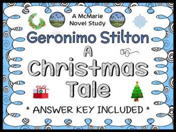 A Christmas Tale (Geronimo Stilton) Novel Study / Reading Comprehension Unit