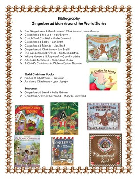 A Christmas Tour of the World with the Gingerbread Man