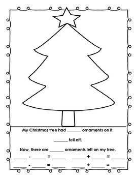 A Christmas Tree Subtraction Story