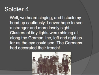 A Christmas Truce PowerPoint Reader's Theater