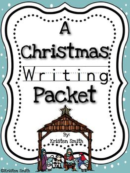 A Christmas Writing Pack- centered around the Biblical story of Christmas