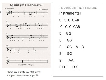 """A Christmas musical Age 6-10 with scenery and sound effects """"A Special Gift"""