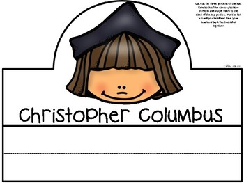 A+ Christopher Columbus History Hats For Columbus Day