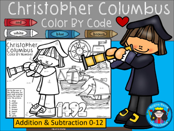 A+ Christopher Columbus Math....Addition and  Subtraction: