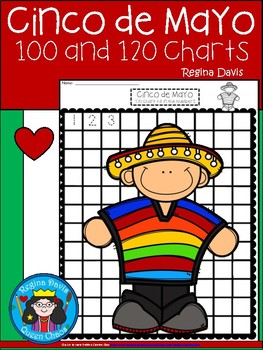 A+ Cinco de Mayo: Numbers 100 and 120 Chart