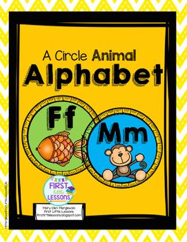 A Circle Animal Alphabet