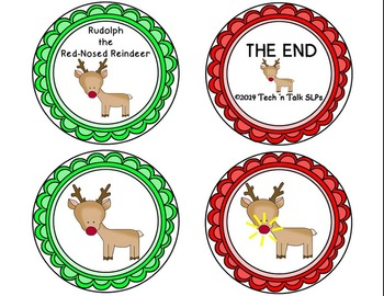 A Circle Time Christmas Rhyme -  Rudolph the Red-Nosed Reindeer Book Companion