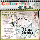 A Class Divided Color-fill Film Guide Doodle Notes