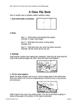 A Class Flip Book (Dragons)
